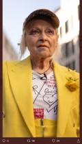 【イタすぎるセレブ達】英ファッションデザイナー「ウィキリークス」創始者の米引き渡しに抗議 裁判所前で巨大な鳥かごに入り「人々は何が起こっているのか知らない」