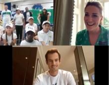 【イタすぎるセレブ達】キャサリン妃と小学生のビデオ電話にテニスのアンディ・マレー選手がサプライズ出演