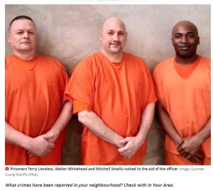 【海外発!Breaking News】心臓発作で倒れた刑務所の看守 3人の受刑者が独房から駆けつけ救う(米)<動画あり>