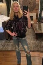 【イタすぎるセレブ達】ジェシカ・シンプソン、20代の頃のジーンズを見事にはきこなす 30代最後の記念ショット