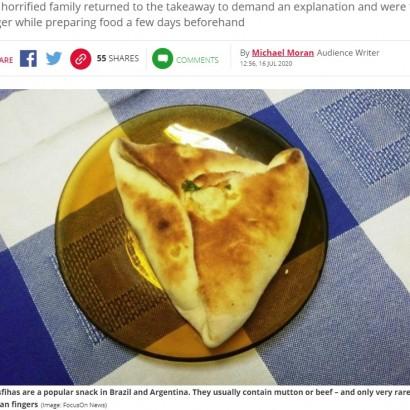 【海外発!Breaking News】ミートパイの中に切断された手指が混入 「もう少しで飲み込むところだった」と14歳少年(ブラジル)