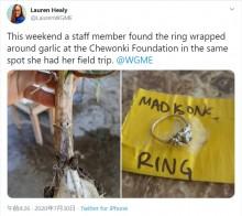 【海外発!Breaking News】祖母から貰った大切な指輪を失くした少女、作業した畑で9か月後に見つかる(米)<動画あり>