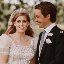 【イタすぎるセレブ達】ベアトリス王女、挙式はエリザベス女王が着用したドレス&ティアラで 英王室がウエディングフォト公開