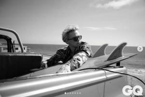 写真家の長男ブルックリンが撮影したコーディ・シンプソン(画像は『GB 2020年8月8日付Instagram「@gqmexico @codysimpson Styling @fernandocarrillo Shot by me」』のスクリーンショット)