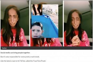 """【海外発!Breaking News】""""世界一醜い""""と言われた女性、TikTokで横行する心無いイタズラ動画に「私の写真を使わないで」(米)<動画あり>"""
