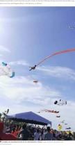 【海外発!Breaking News】凧に絡まった3歳児、突風で地上30メートルまで巻き上げられる(台湾)<動画あり>