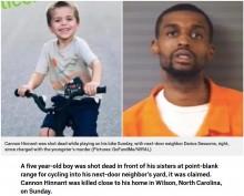 【海外発!Breaking News】自転車に乗って遊んでいた5歳児、隣人の庭に入った途端射殺される(米)