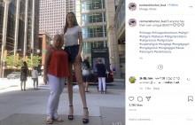 身長205センチ、脚の長さ134センチ 世界一長い脚を主張する女性「今の自分が好き」(韓国)<動画あり>