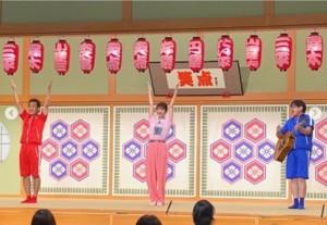 『笑点』でテツandトモと共演した佐々木希(画像は『佐々木希 2020年8月23日付Instagram「テツandトモさんと共演させていただけて本当に嬉しかったです!」』のスクリーンショット)