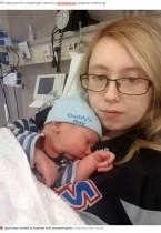 【海外発!Breaking News】4280グラムの赤ちゃんを産んだ女性「妊娠に気付いたのは分娩1時間前だった」(英)