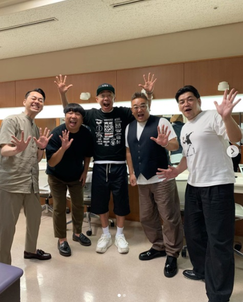 『バナナサンド』にゲスト出演した木梨憲武(画像は『木梨憲武 / Noritake Kinashi 2020年9月22日付Instagram「バナナサンドお世話になりました記念!」』のスクリーンショット)