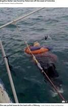 【海外発!Breaking News】2年前から音信不通の母親、海で漂流しているところを発見される(コロンビア)<動画あり>