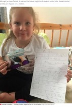 【海外発!Breaking News】天国に逝った猫に手紙を書いた5歳女児に返事が届く 郵便配達員の心遣いが温かい(英)