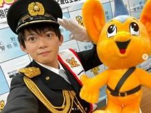 【エンタがビタミン♪】松丸亮吾、一日警察署長に就任するも友人から「キッザニアかな?」
