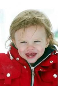 母ヴィクトリアが公開した幼少期のロメオの写真(画像は『Victoria Beckham 2020年9月1日付Instagram「Happy 18th birthday @romeobeckham....」』のスクリーンショット)