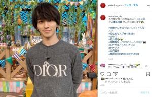 『ニノさん』出演時の横浜流星(画像は『【公式】私たちはどうかしている 最終回9月30日夜9時 2020年9月26日付Instagram「本日夜10時から放送の #ニノさんSP に #横浜流星 さんが出演します」』のスクリーンショット)