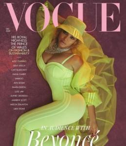 アディダスとのコラボ作品でコーディネート(画像は『British Vogue 2020年10月30日付Instagram「Something cracked open inside of me right after giving birth to my first daughter.」』のスクリーンショット)