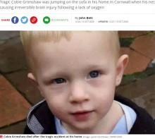 【海外発!Breaking News】2歳男児 ソファで跳ねている最中にブラインドのひもに首が絡まり死亡(英)