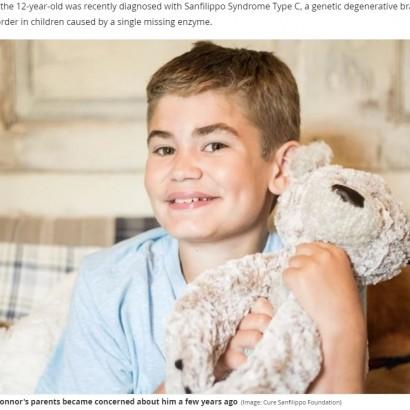 【海外発!Breaking News】「息子を助けて!」小児の認知症を患う12歳少年の両親が訴え(米)<動画あり>