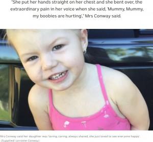 【海外発!Breaking News】ボタン電池誤飲の3歳女児、食道に穴が開き大動脈まで達し死亡(豪)