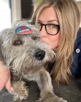 【イタすぎるセレブ達】ジェニファー・アニストン、保護犬を迎える 眠る姿が「可愛すぎる」セレブ達もメロメロに