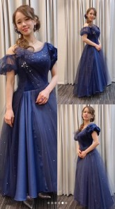 ソニン、デビュー20周年記念ライブでの衣装 後半はオートクチュールのドレスで(画像は『Sonim・ソニン・선임 2020年10月19日付Instagram「昨日 デビューして丸20年の日でした。」』のスクリーンショット)