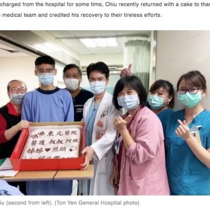 【海外発!Breaking News】「お前の好きな鶏カツ食べるから」兄の一言で62日間の昏睡状態から目覚めた少年(台湾)