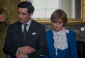 チャールズ皇太子とダイアナ妃の結婚生活を描いた『ザ・クラウン』シーズン4(画像は『The Crown 2020年11月11日付Instagram「The engagement of Charles and Diana.」』のスクリーンショット)