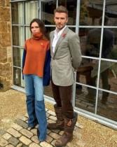 【イタすぎるセレブ達】ヴィクトリア・ベッカム、夫デヴィッドのファッションセンスをからかう ファンも「なんでそのチョイス?」