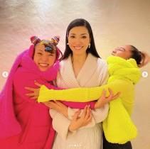 """【エンタがビタミン♪】アンミカ""""可愛い妹たち""""の誕生日を祝う 青山テルマ、フワちゃんに素敵なプレゼントも"""