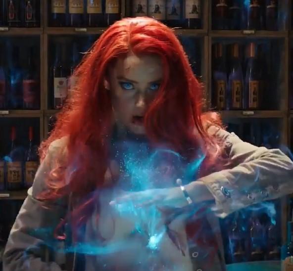 アンバー『アクアマン』でのメラ役続投に意欲見せるも…(画像は『Aquaman Movie 2019年3月8日付Instagram「The King of the Seven Seas would be nothing without Mera and Atlanna!」』のスクリーンショット)