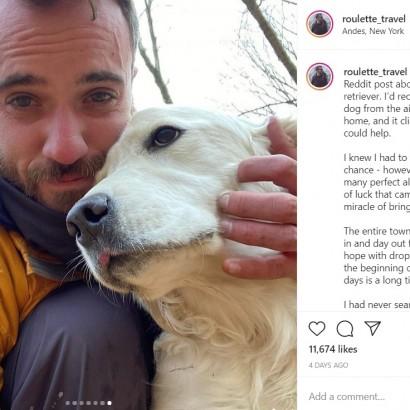 【海外発!Breaking News】森で迷子になった犬 10日後にドローンにより発見され、飼い主と感動の再会(米)<動画あり>