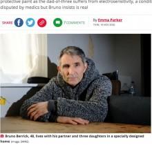 【海外発!Breaking News】電磁波過敏症の男性、暖房が使えず冬の間は家族と離れて暮らすことに(英)