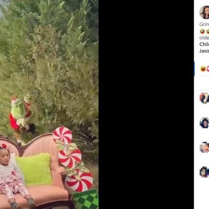 【海外発!Breaking News】クリスマスフォトの撮影で娘が絶叫 ドッキリを仕掛けた母親に「可哀そう」と批判の声も(米)<動画あり>
