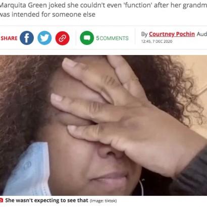 【海外発!Breaking News】「おばあちゃんです。間違って送っちゃった。削除してください」祖母のあられもない写真を見た女性が大ショック(米)<動画あり>