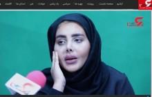 【海外発!Breaking News】「ゾンビ化したアンジェリーナ・ジョリー」で有名になったイラン人女性、素顔で公の場に登場<動画あり>