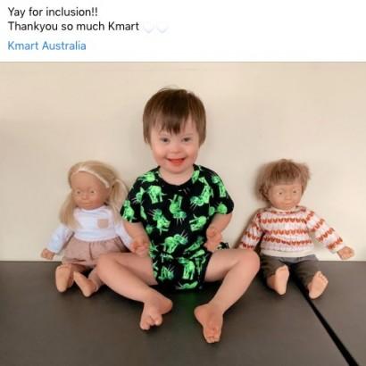 【海外発!Breaking News】ダウン症の子供を模した人形を販売 豪スーパー「障がいに対する偏見を取り除きたい」