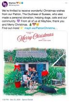 【イタすぎるセレブ達】ヘンリー王子・メーガン妃夫妻、今年のクリスマスカードは家族写真のイラスト