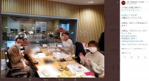 火曜パートナーを務める山崎ケイ(画像は『『ザ・ラジオショー』(ニッポン放送・平日13時~) 2020年12月22日付Twitter「このあとお昼1時から #ナイツラジオショー」』のスクリーンショット)