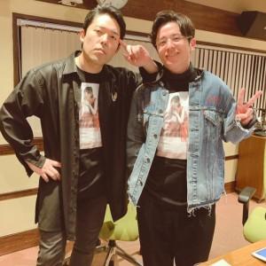 コンビで『らじらー!』に出演していた頃のオリラジ(画像は『藤森慎吾(オリラジ) 2020年2月24日付Instagram「あっちゃんと生駒T 貰っちゃいました!!」』のスクリーショット)