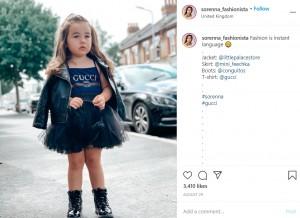 ヘナさん曰く「ブランドとは全てコラボ」(画像は『Sorenna Dreni 2020年8月29日付Instagram「Fashion is instant language」』のスクリーンショット)