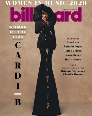 【イタすぎるセレブ達】カーディ・B、Billboard「ウーマン・オブ・ザ・イヤー」で受賞スピーチ プレゼンターは故ブレオナ・テイラーさんの母親