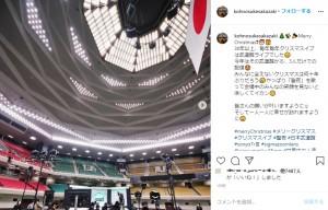 今年はライブができず、日本武道館から番組を生配信したTHE ALFEE(画像は『坂崎幸之助 2020年12月24日付Instagram「Merry Christmas」』のスクリーンショット)