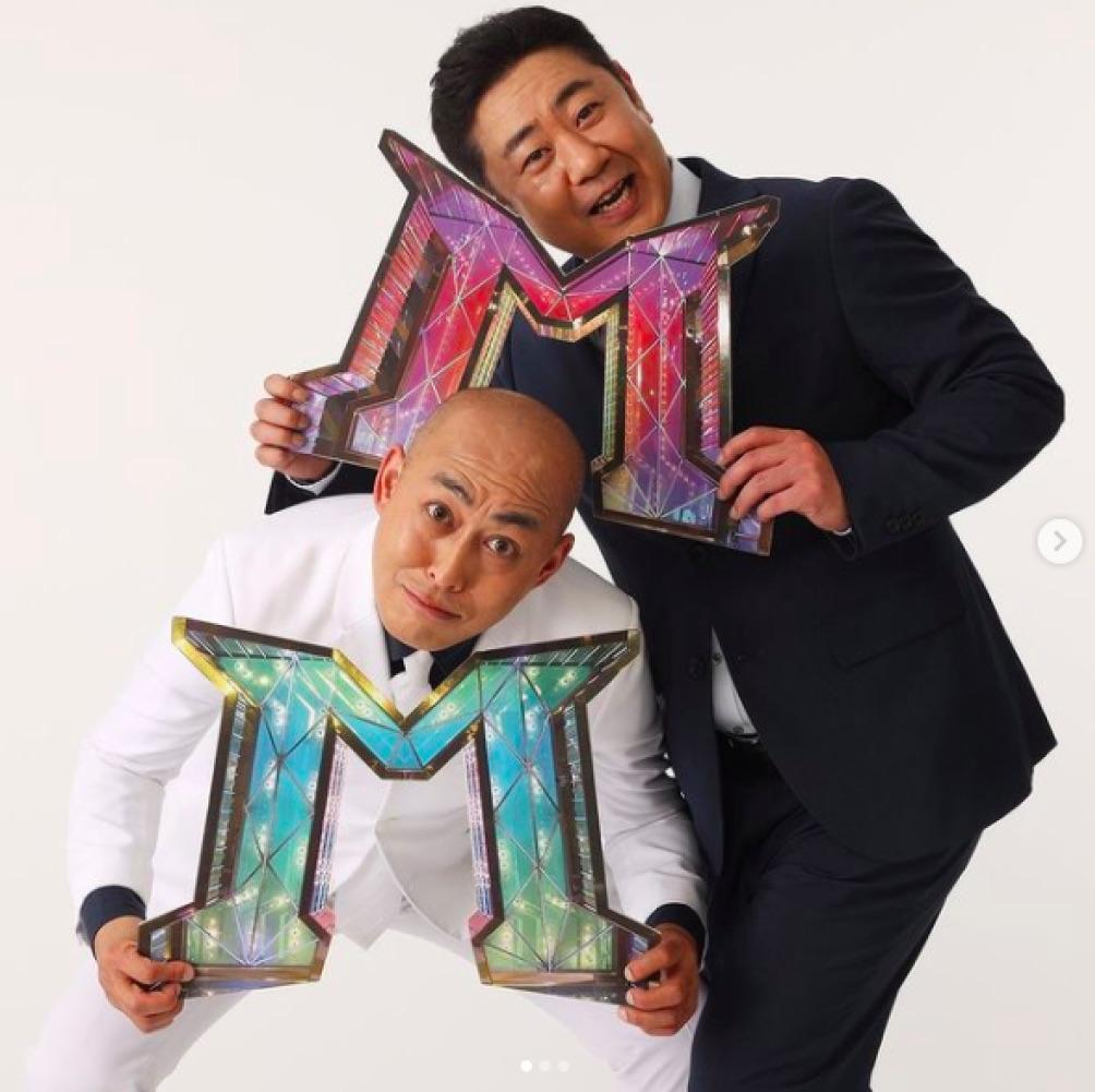 """「""""錦鯉""""というコンビを全国に知らしめたい」と語っていた長谷川雅紀(左)(画像は『M-1グランプリ 2020年12月17日付Instagram「#錦鯉の意気込み」』のスクリーショット)"""