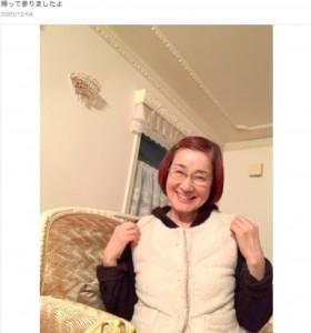 可愛らしいものが大好きな松居一代(画像は『松居一代 2020年12月4日付オフィシャルブログ「帰って参りましたよ」』のスクリーンショット)