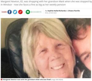 【海外発!Breaking News】道にティッシュを落とした82歳女性に罰金1万円 わざとではないと説明するも「ルールはルールです」(英)