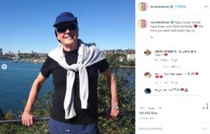 生きていれば82歳になるはずだったアントニーさん(画像は『Nicole Kidman 2020年12月10日付Instagram「Papa, today would have been your 82nd birthday」』のスクリーンショット)