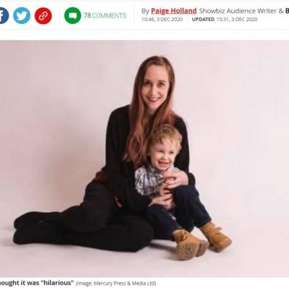 【海外発!Breaking News】恐怖のクリスマスデコレーションに泣き出す5歳児 母親に批判殺到「小さな子供にやる事じゃない」(英)