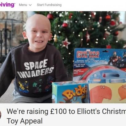 【海外発!Breaking News】脳腫瘍と闘う8歳少年「僕のクリスマスプレゼントはいらない。入院している子供たちにおもちゃを届けたい」(英)<動画あり>