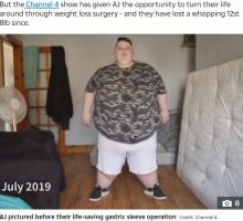【海外発!Breaking News】体重260キロだった24歳女性が182キロへ「1日にコーラ6リットル、5000キロカロリーの食事はやめた」(スコットランド)